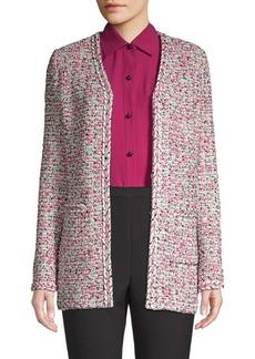 St. John Modern Pointelle Knit Jacket