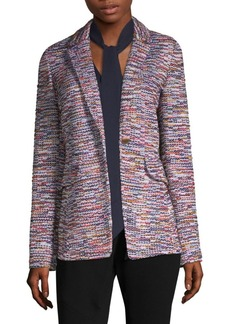St. John Multi-Color Tweed Jacket