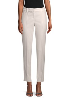 St. John Pinktuck Stretch Ankle Pants