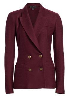 St. John Refined Texture Knit Jacket