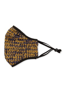 St. John Reusable Tweed Cloth Mask Face Covering