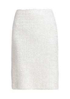 St. John Ribbon Couture Pencil Skirt
