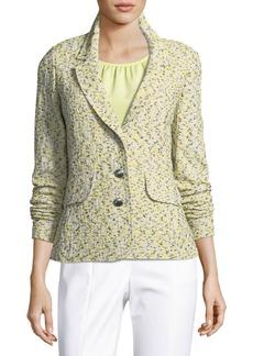 St. John Romee Tweed Knit Jacket