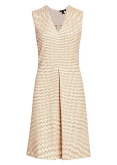 St. John Rope Tweed Shift Dress