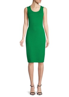 St. John Santana Knit Bodycon Dress