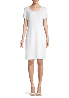 St. John Santana Knit T-Shirt Dress