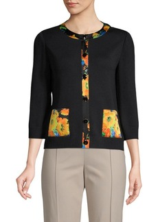 St. John Santana Knitted Jacket
