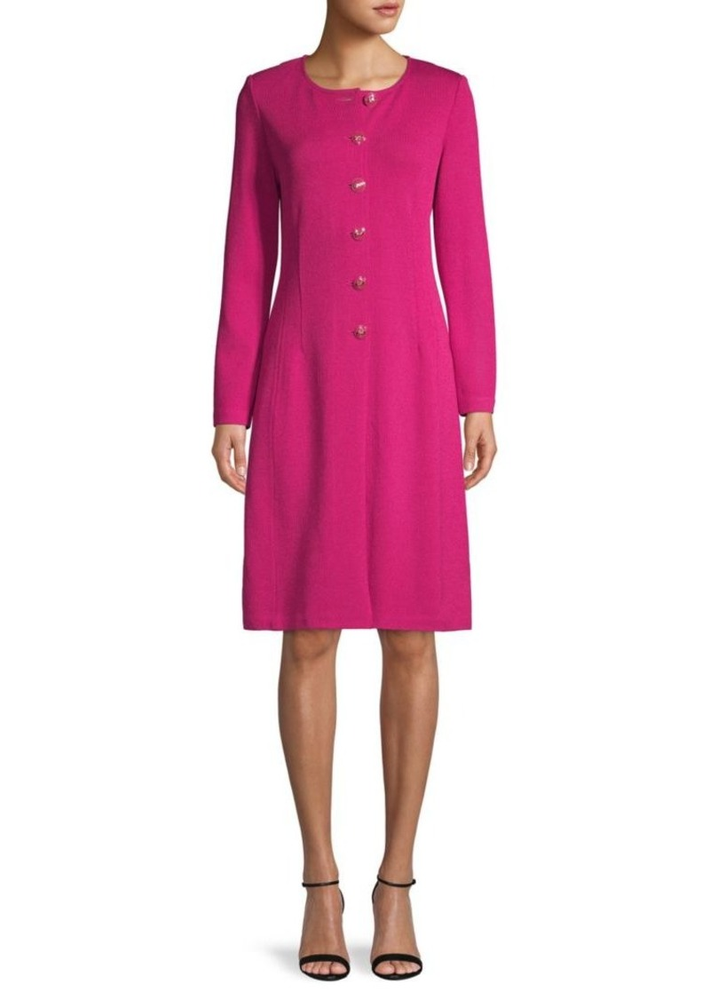 St. John Santana Wool-Blend Dress