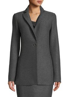 St. John Sofia Knit One-Button Jacket