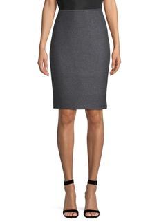 St. John Sofia Knit Pencil Skirt