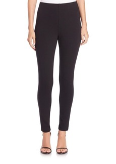 St. John Cropped Ponte Leggings