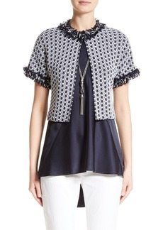 St. John Collection Aadi Tweed Knit Jacket