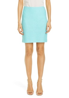 St. John Collection Adina Knit Miniskirt
