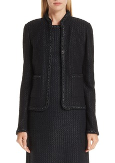 St. John Collection Adina Knit Short Jacket