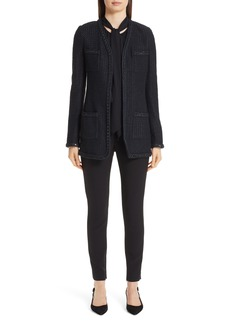 St. John Collection Adina Long Knit Jacket