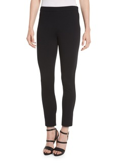 St. John Alexa Knit Slim-Leg Ankle Pants