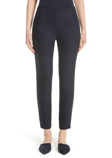 St. John Collection Alexa Scuba Bi-Stretch Slim Crop Pants