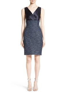 St. John Collection Alisha Sparkle Tweed Dress