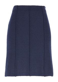 St. John Collection Ana Bouclé Knit A-Line Skirt