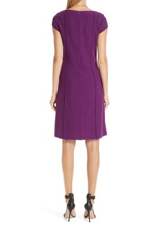 St. John Collection Ana Bouclé Knit Dress
