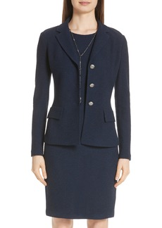 St. John Collection Ana Bouclé Knit Jacket