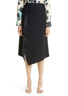 St. John Collection Asymmetrical Cady Skirt