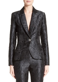 St. John Collection Avani Rose Jacquard Jacket