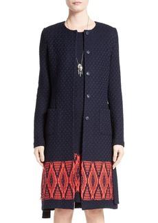 St. John Collection Baruti Knit Topper