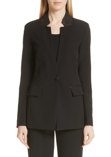 St. John Collection Bella Double Weave Jacket