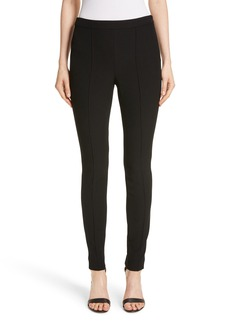 St. John Collection Bella Double Weave Leggings