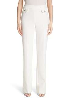 St. John Collection Bella Double Weave Pants