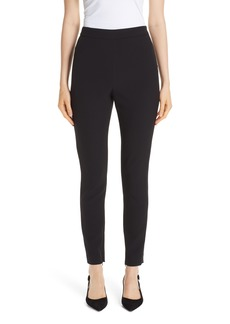St. John Collection Bella Double Weave Skinny Pants