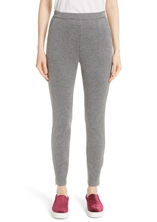St. John Collection Bird's Eye Double Knit Pants