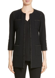 St. John Collection Bouclé Knit Jacket