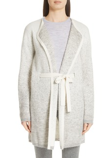 St. John Collection Brushed Dégradé Jacquard Knit Cardigan