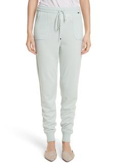 St. John Collection Cashmere Jersey Sweatpants