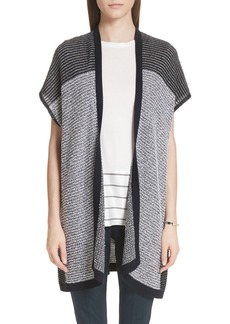 St. John Collection Contrast Terry Cardigan