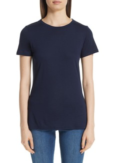 St. John Collection Crystal Embellished Jersey Tee