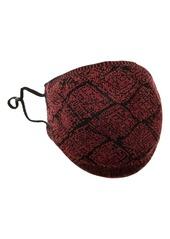 St. John Collection Diamond Pattern Piqué Knit Adult Face Mask