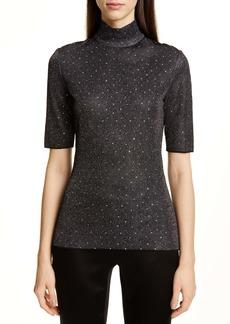 St. John Collection Diamond Sparkle Knit Sweater