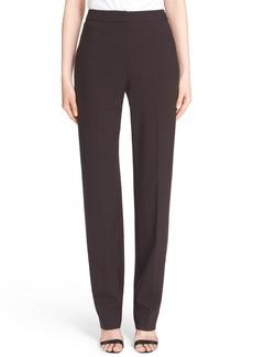 St. John Collection 'Diana' Straight Leg Tropical Wool Pants