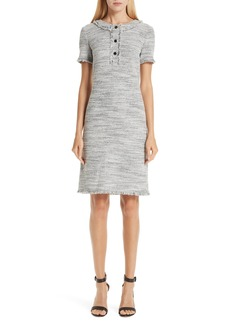 St. John Collection Eaton Place Tweed Knit Dress