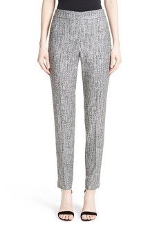 St. John Collection Emma Abstract Stretch Twill Pants