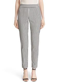 St. John Collection 'Emma' Cabana Stripe Stretch Cotton Pants