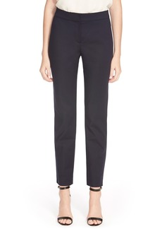 St. John Collection 'Emma' Crop Micro Ottoman Pants