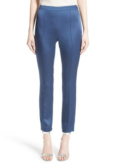 St. John Collection Emma Luxe Satin Crepe Pants