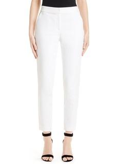 St. John Collection Emma Stretch Micro Ottoman Crop Pants