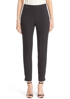 St. John Collection Emma Stretch Piqué Pants