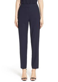 St. John Collection 'Emma' Tropical Wool Crop Pants