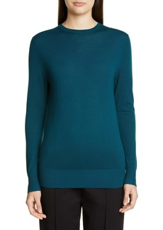 St. John Collection Extrafine Merino Wool Jersey Sweater